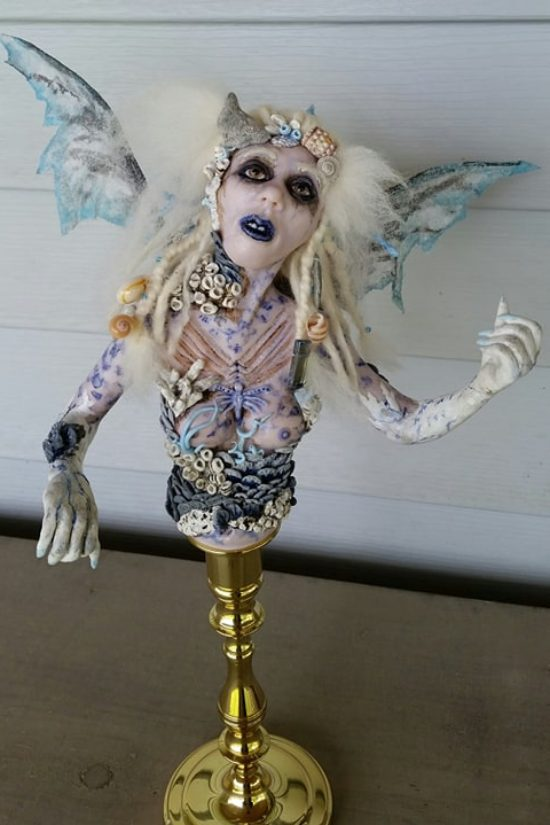 Amaranth doll by Tina Parsons