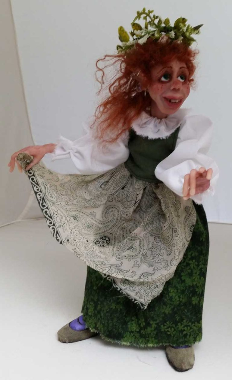 Fiona art doll by Tina Parsons