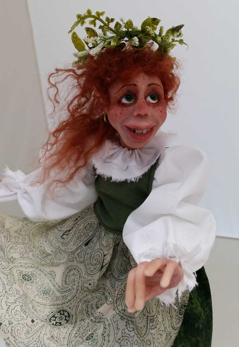Fiona art doll by Tina Parsons