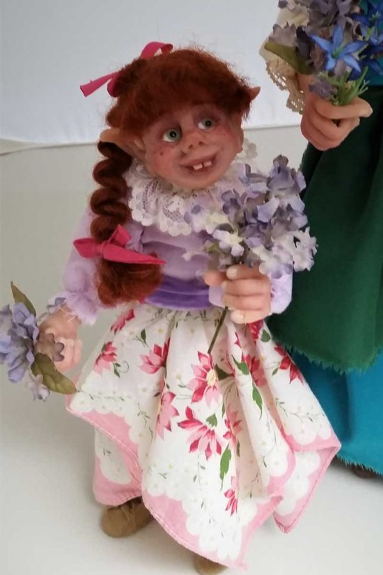 Maylee art doll by Tina Parsons