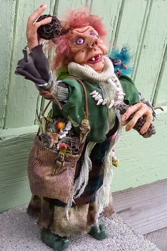 Morella art doll by Tina Parsons