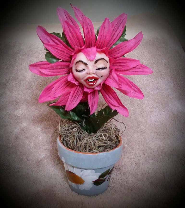 Monroe flower by Tina Parsons