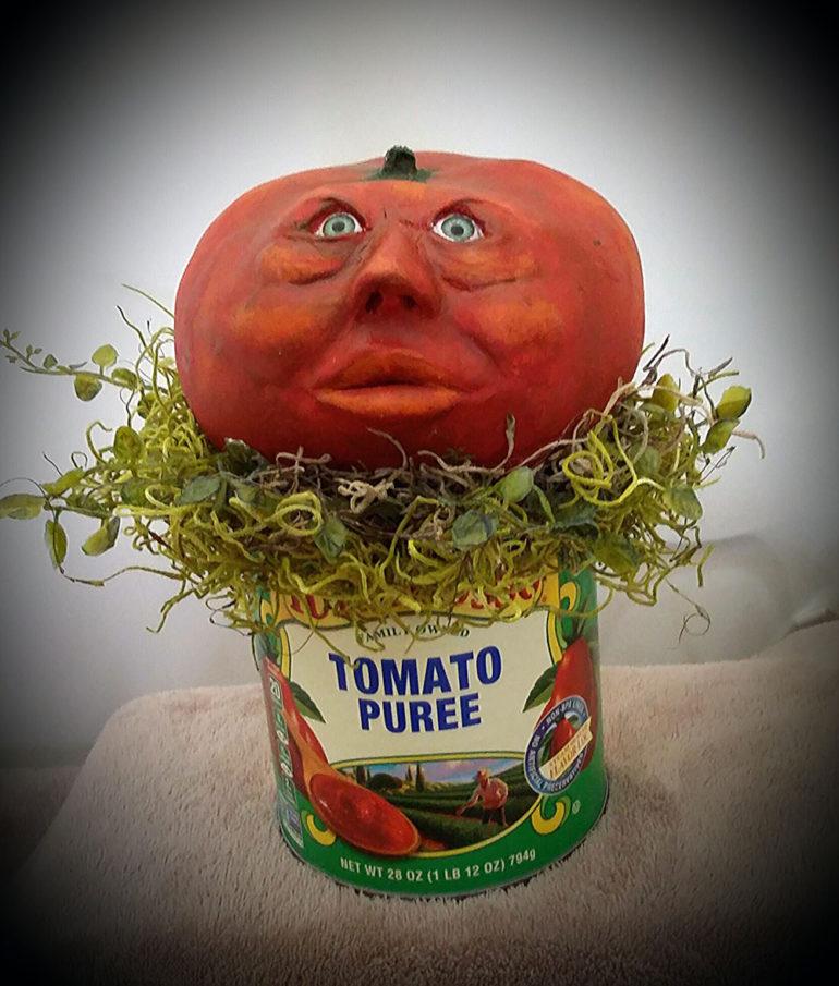 Tomato Puree by Tina Parsons