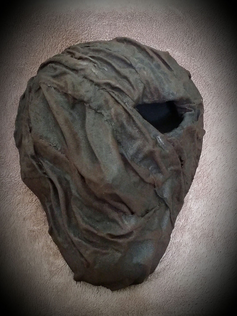 Wrapped mask by Tina Parsons