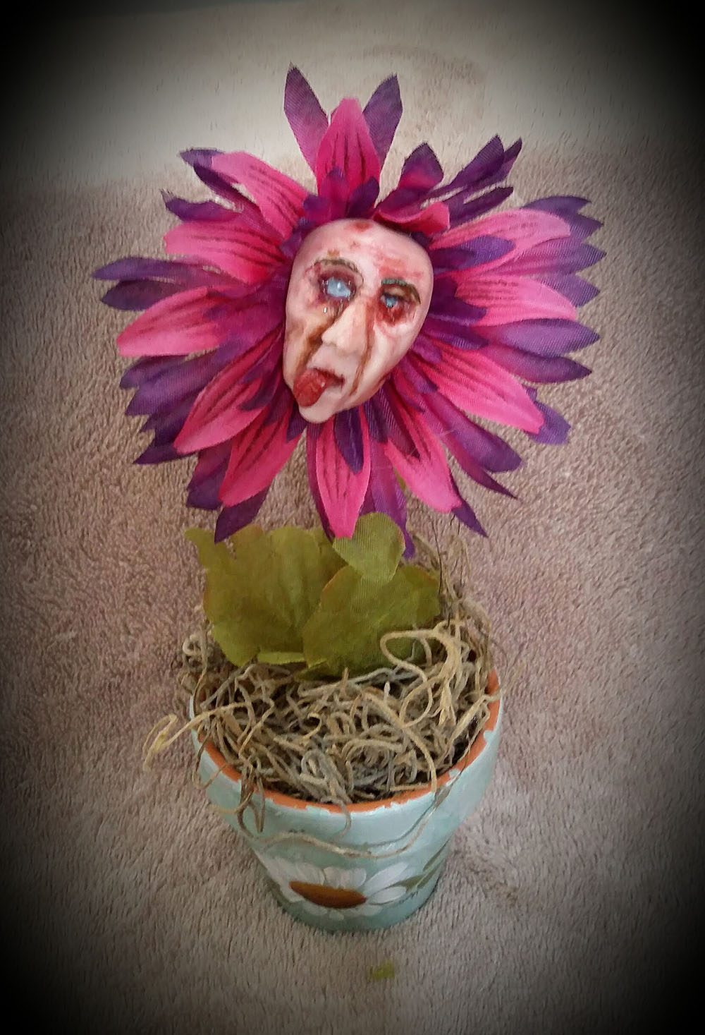 Zombie flower by Tina Parsons